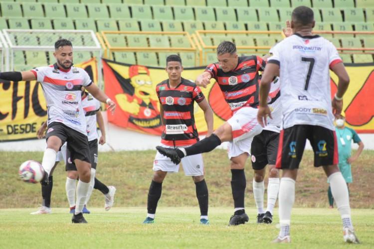 Guarany de Sobral bate o Juventude Samas-MA e abre vantagem na liderança do Grupo 1 (Foto: Amaral Torquato / Guarany de Sobral)