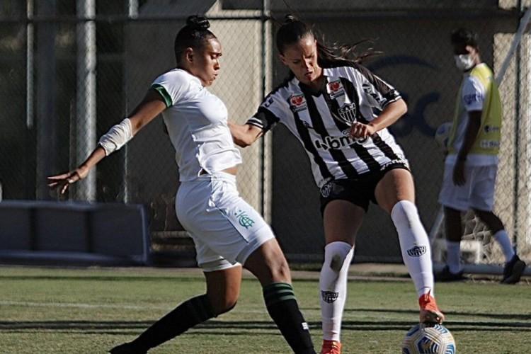 Atlético-MG segura América-MG e sobe à elite do Brasileirão Feminino (Foto: )