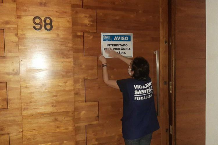 Prefeitura do Rio já encerrou 150 festas e eventos ilegais neste ano (Foto: )