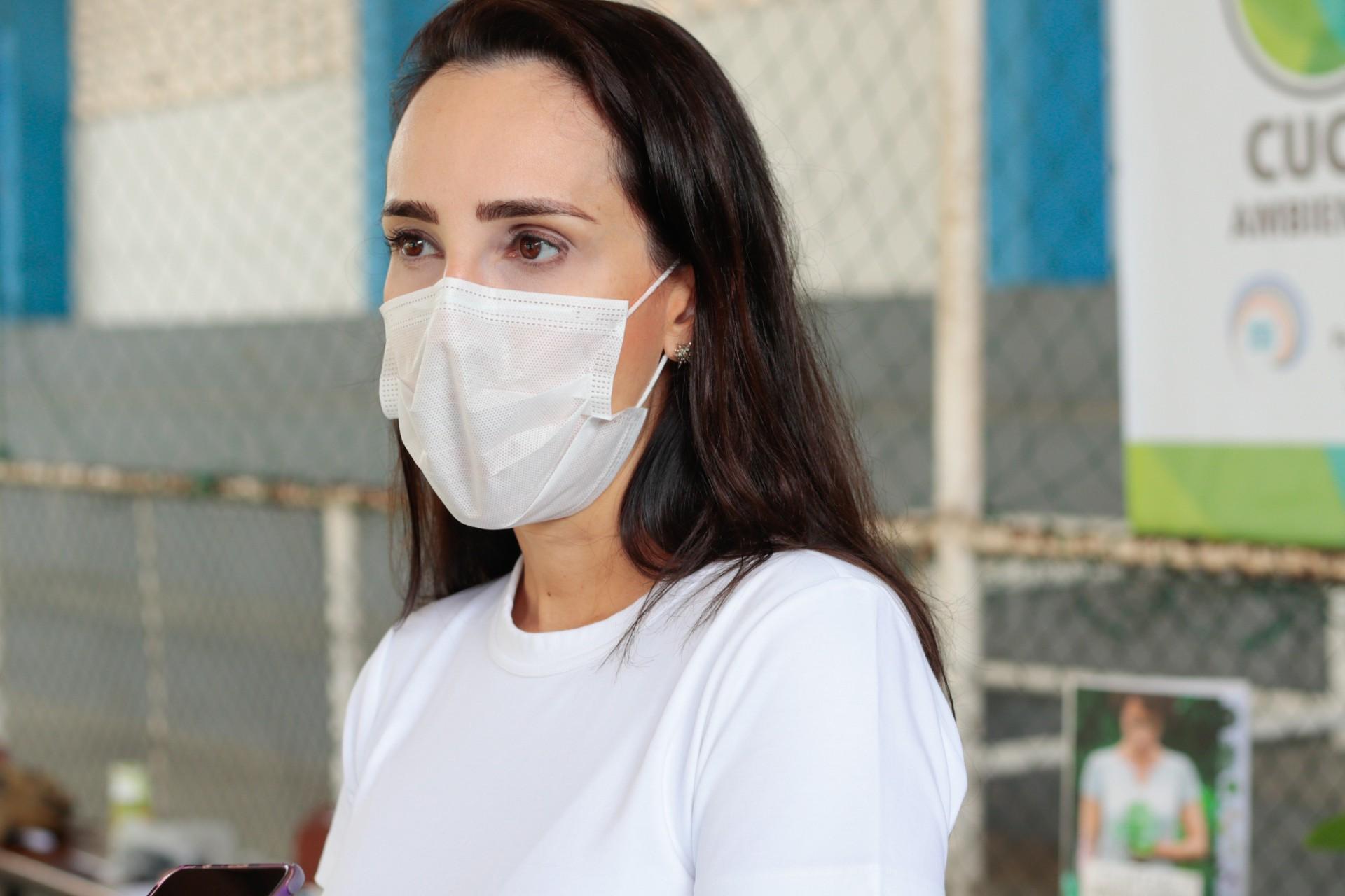 A secretária de Meio Ambiente Luciana Lobo (Foto: BARBARA MOIRA/ O POVO)