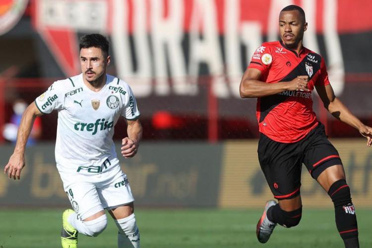 Palmeiras supera Atlético-GO pelo Brasileiro e vence a sétima seguida (Foto: Cesar Greco)