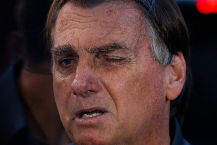 Presidente Jair Bolsonaro (Foto: MIGUEL SCHINCARIOL / AFP)