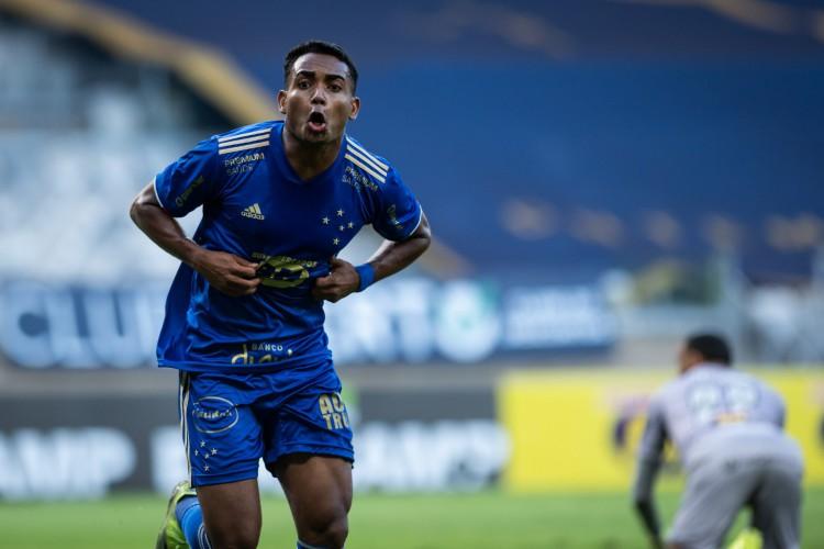 Ceará encaminha acerto com o atacante Airton, do Cruzeiro (Foto: Bruno Haddad/Cruzeiro)