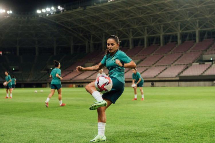 """Tóquio: """"Nosso foco é ganhar o ouro"""", diz Debinha, atacante da seleção (Foto: )"""