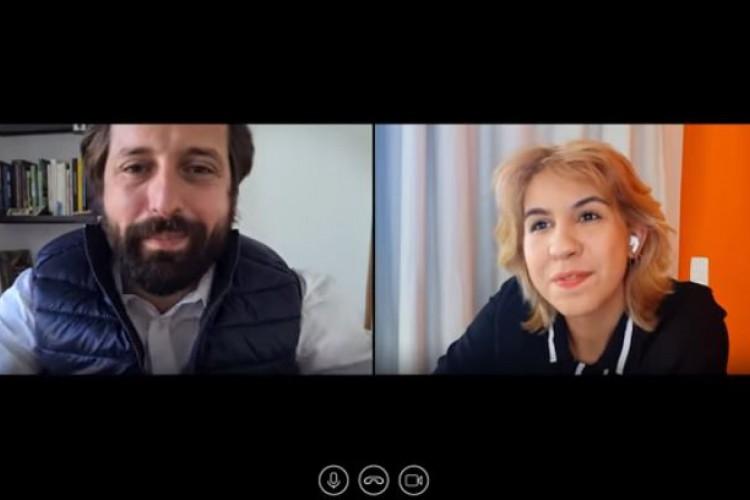 Gregório Duvivier e Ademara Barros dão vida aos dois personagens (Foto: Reprodução/Youtube)