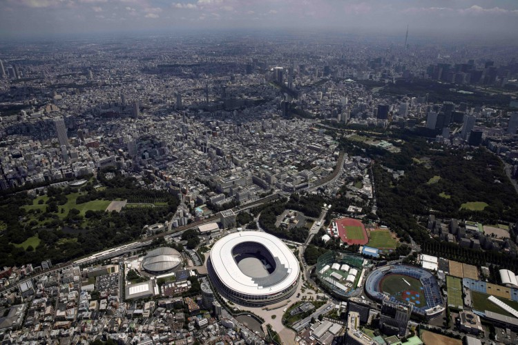 Estádio Olímpico receberá na sexta, 23, a Cerimônia de Abertura das Olimpíadas de Tóquio 2021; confira onde assistir ao vivo e qual horário do evento (Foto: Behrouz MEHRI / AFP)
