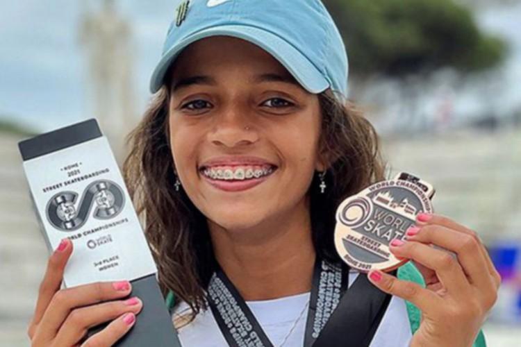 Olimpíadas de Tóquio: Rayssa Leal é a mais jovem brasileira em Jogos Olímpicos; veja quem é a garota (Foto: Julio Detefon/CBSK/Direitos Reservados)