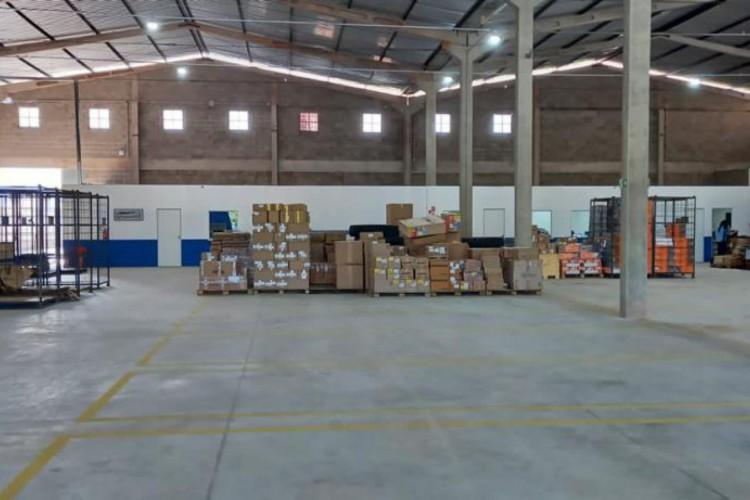 Novo espaço da Termaco Logística em Teresina (Foto: Divulgação)