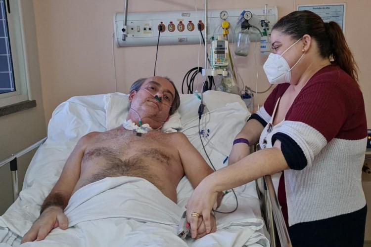 Ilo Alcantara teve, além de 95% dos pulmões comprometidos, acometimento renal, falência hematológica e falência de múltiplos órgãos (Foto: Raquel Oliveira)