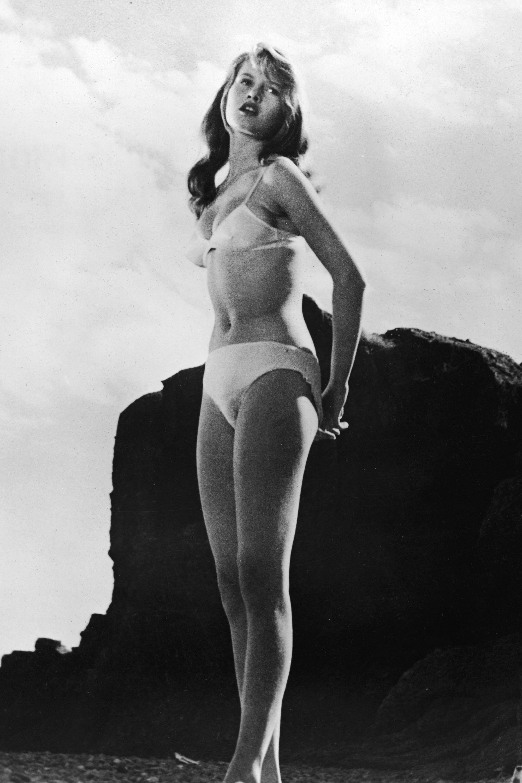 (Foto: Reprodução/Pinterest)Brigitte Bardot - Calcinha cintura alta