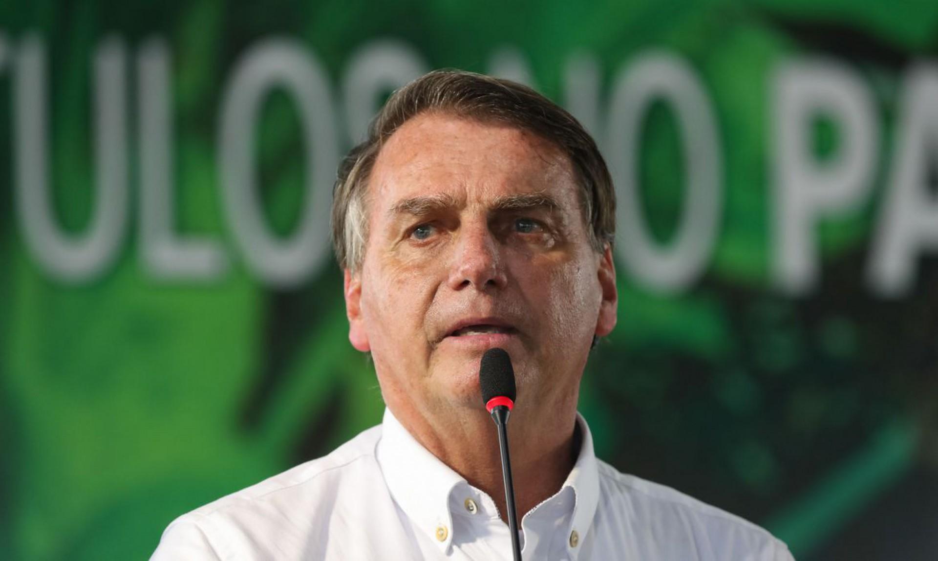 Presidente Jair Bolsonaro em visita ao Paraná (Foto: Isac Nóbrega/PR)