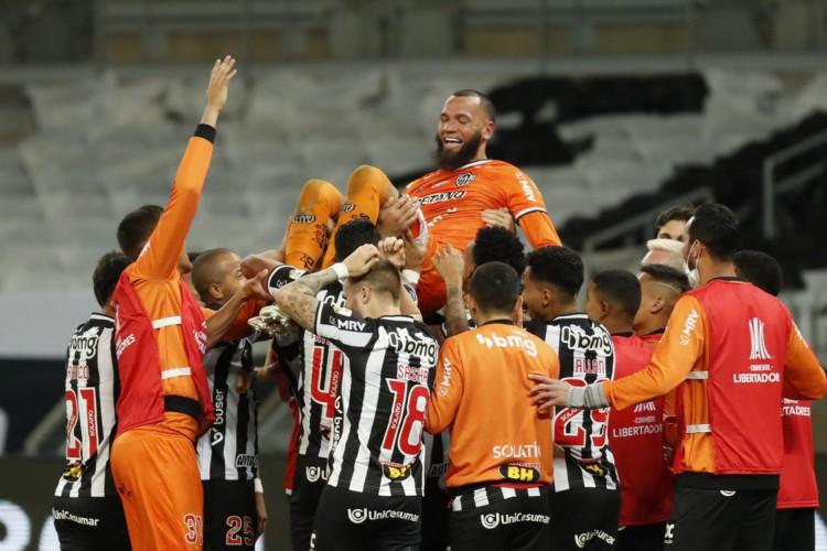 Atlético-MG supera Boca nos pênaltis e avança na Libertadores (Foto: )