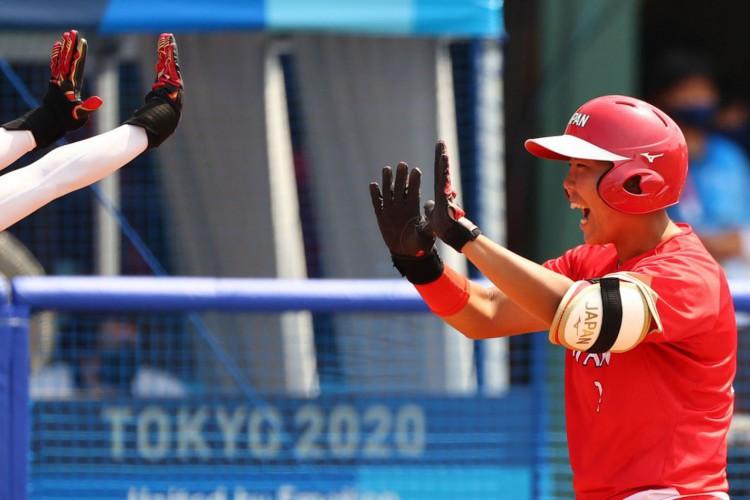 Japão abre Olimpíada com vitória sobre Austrália no softbol (Foto: )