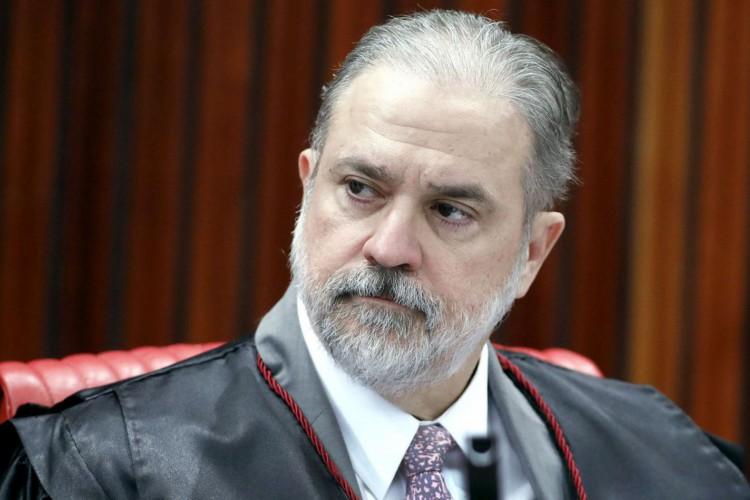 Representante do Ministério Público, Augusto Aras  durante sessão plenária do TSE. Brasília-DF, 02/04/2019 Foto: Roberto Jayme/ Ascom /TSE (Foto: )