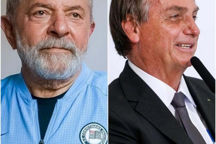 Bolsonaro e Lula criticam possibilidade de terceira via para disputa presidencial em 2022 (Foto: Reprodução: Lula (PT.org)/ Bolsonaro (Foto: Alan Santos/PR))