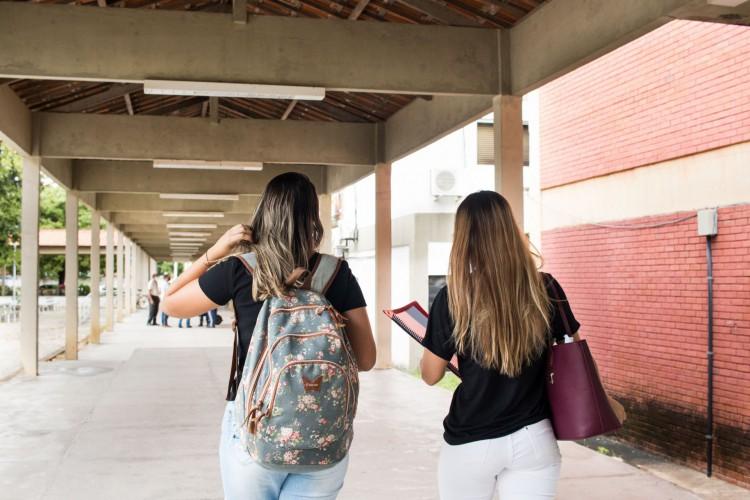FORTALEZA, CE, BRASIL, 20-07-2021: A Universidade Estadual do Ceará-UECE, campus do Itaperi, tem baixa movimentação de alunos e professores devido a pandemia, tendo atualmente uma volta gradativa das aulas presenciais. (Foto: Fernanda Barros/ Especial para O Povo) (Foto: Fernanda Barros)