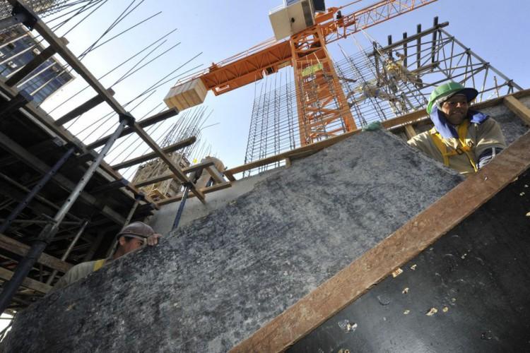 indústrias; fábricas,Obras de construção do edifício sede do SENAI,  construção civil. (Foto: CNI/José Paulo Lacerda/Direitos reservados)