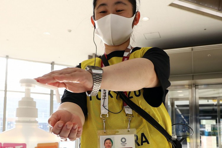Jogos de Tóquio começam com protocolos rígidos e medo da pandemia (Foto: )