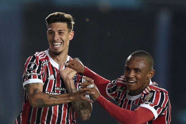Libertadores: com brilho de Rigoni e Marquinhos, São Paulo avança (Foto: )