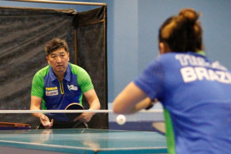 """Tênis de mesa: em """"casa"""", Hugo Hoyama vive 2ª Olimpíada como técnico (Foto: )"""