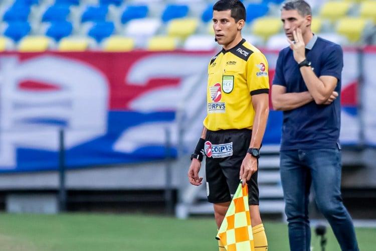 Nailton Oliveira já fez parte do extinto quadro de aspirantes FIFA (Foto: Pedro Chaves/FCF )