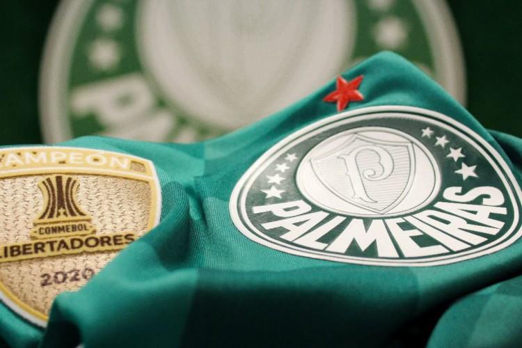 Palmeiras adotou estrela vermelha no uniforme em alusão ao título da Copa Rio (Foto: Divulgação)
