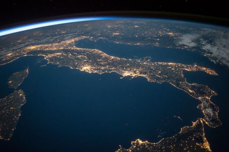 Planeta Terra visto do espaço (Foto: Reprodução/Pexels)