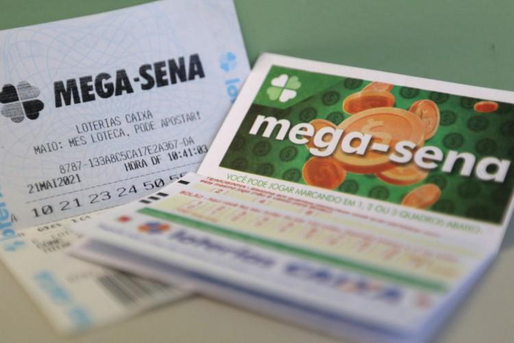 Bilhetes de aposta da mega-sena. (Foto: Tânia Rêgo/Agência Brasil)