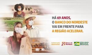 Campanha celebra os 69 anos do Banco do Nordeste
