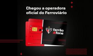 Ferrão Fone, a operadora oficial do Ferroviário, estreia no mercado