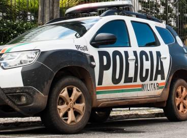 Veículo da Polícia Militar do estado do Ceará