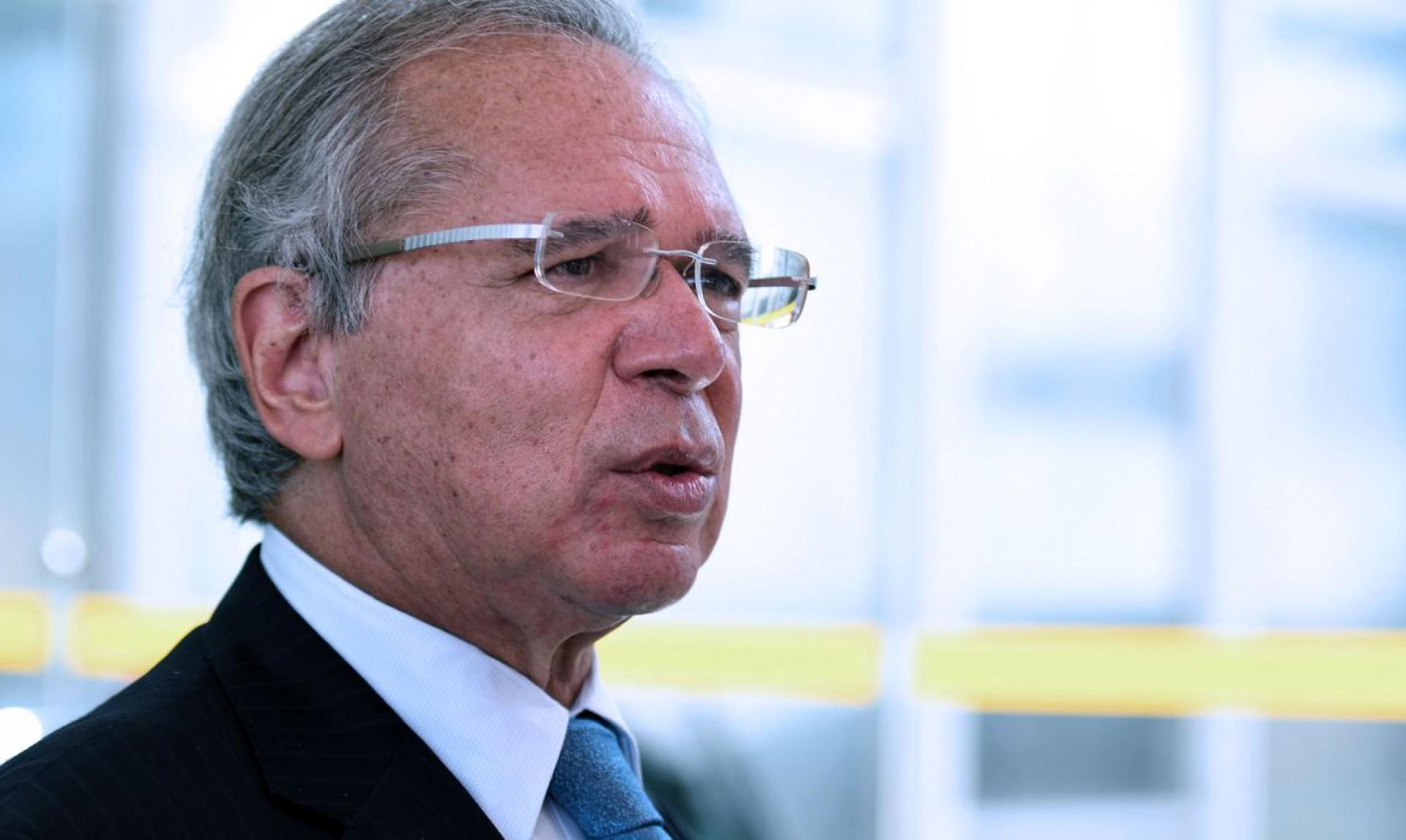 """O ministro da economia, Paulo Guedes, qualificou a questão dos precatórios como um """"meteoro"""" que surgiu e ameaça a economia (Foto: Marcelo Camargo/Agência Brasil)"""