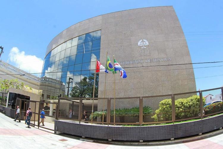 Sede do Tribunal de Justiça de Alagoas, no centro de Maceió.  (Foto: Caio Loureiro/Divulgação TJ-AL)