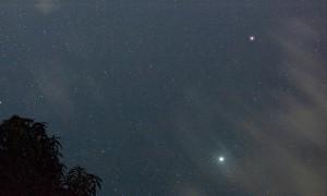 Três chuvas de meteoros em três dias
