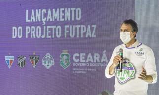 Governado Camilo Santana lançou o projeto nesta sexta-feira, 23