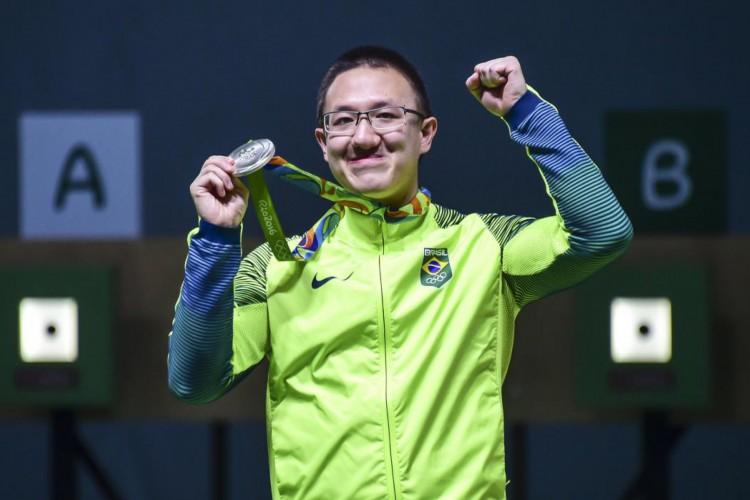 Felipe Wu é a esperança de primeira medalha em Tóquio 2021, com a pistola de Ar 10m. Na Rio-2016, o atirador ganhou medalha de prata  (Foto:  Wander Roberto/Exemplus/COB)