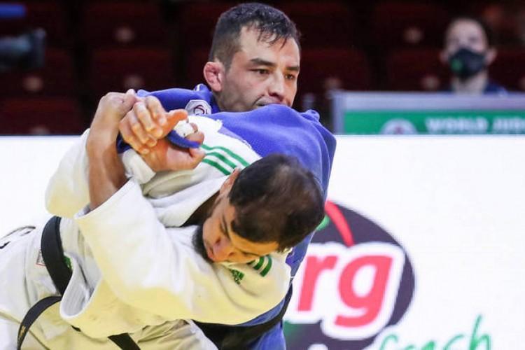 Judoca argelino Fethi Nourine (Foto: MARINA MAYOROVA /IJF/DIVULGAÇÃO)