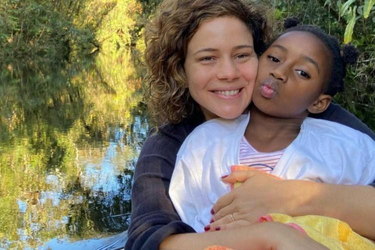 Leandra Leal e sua filha (Foto: Reprodução/ Instagram)