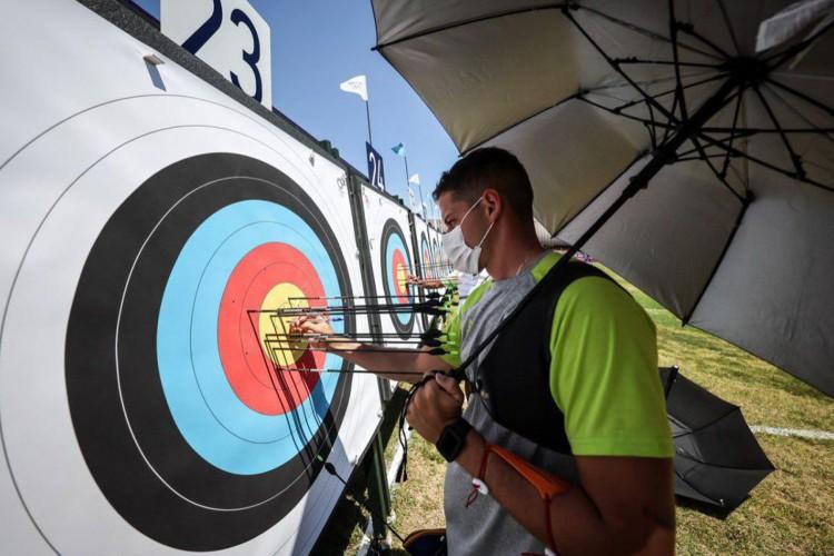 Tóquio: Marcus D'almeida se classifica em 40º lugar no tiro com arco (Foto: )
