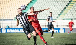 Atlético-CE empatou sem gols contra o Central-PE