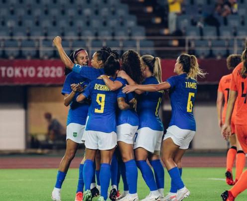 Brasil e Holanda fazem grande jogo na Olimpíada: 3 a 3