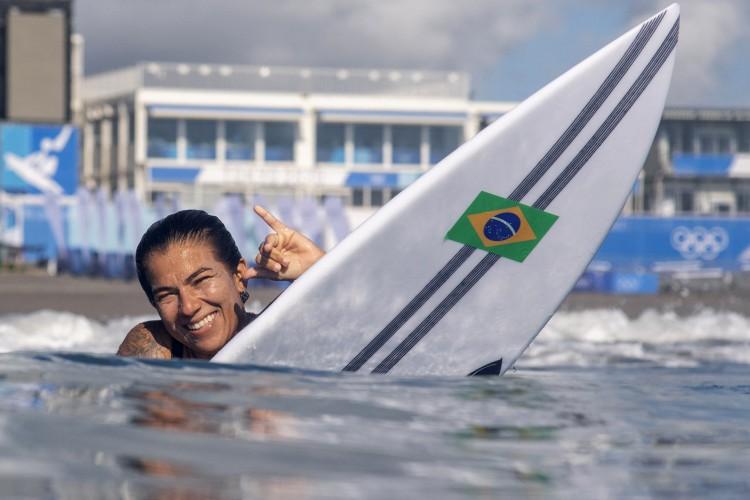 Silvana enfrentou a atleta de Portugal Teresa Bonvalot neste terceiro dia de competições no Japão (Foto: Olivier Morin / Pool / AFP)