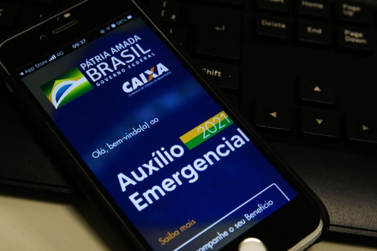 Auxílio emergencial 2021 (Foto: Marcello Casal Jr/Agência Brasil; /Agência Brasil)