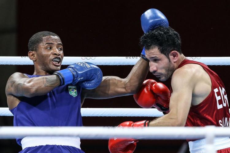 Wanderson de Oliveira avança às oitavas de final do boxe em Tóquio (Foto: )