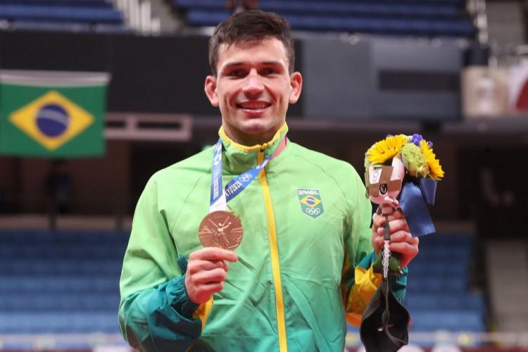 Daniel Cargnin fatura primeiro bronze do judô brasileiro na Olimpíada (Foto: )