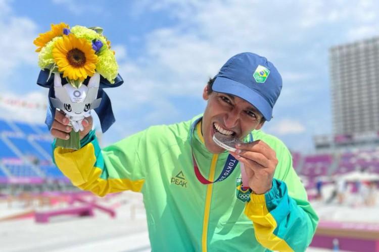 Skate e judô conquistam primeiras medalhas para o Brasil em Tóquio (Foto: )