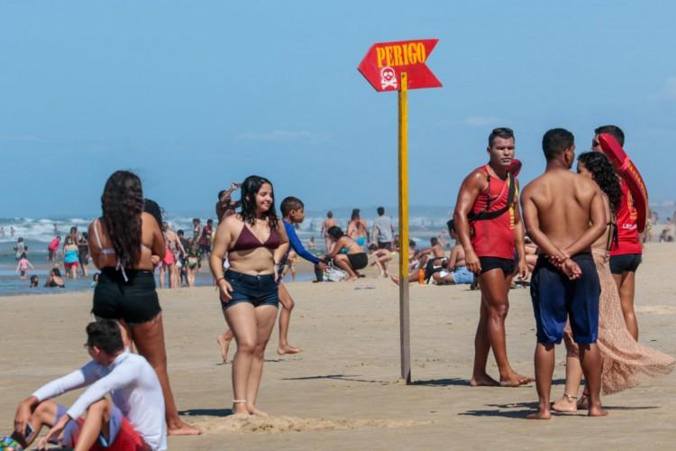 A Praia do Futuro é um dos locais mais buscados por fortalezenses e turistas (Foto: Barbara Moira)