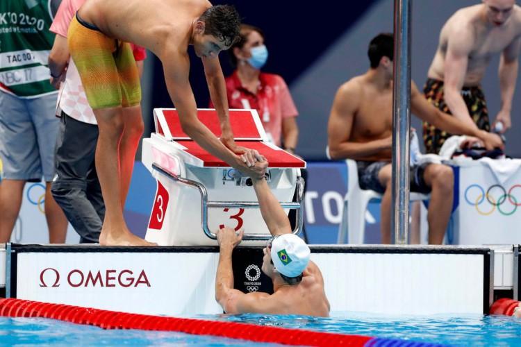 Olimpíada: Brasil chega a uma final e em duas semifinais na natação (Foto: )