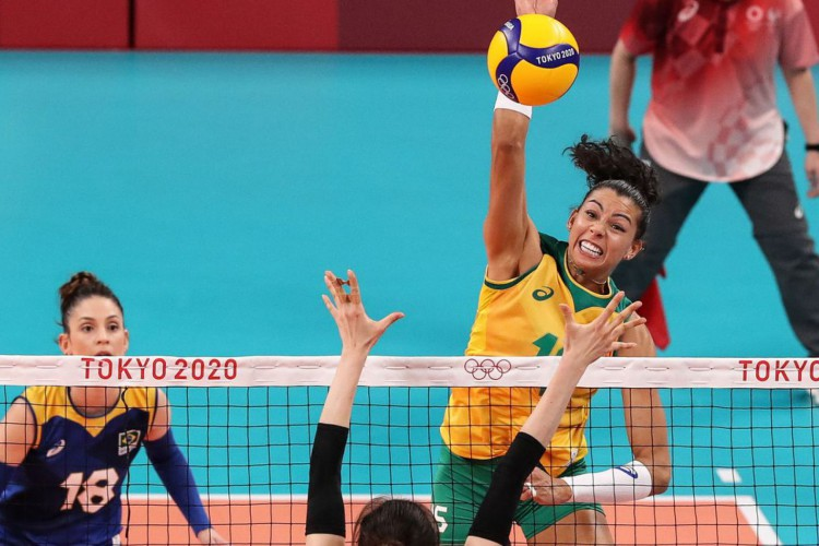 No vôlei feminino, Brasil vence Coreia do Sul na estreia olímpica (Foto: )