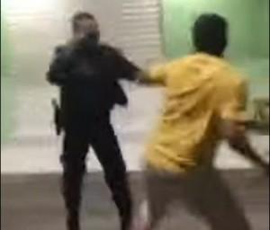 PM e filho de ex-vereador de Potengi brigam no Centro do município